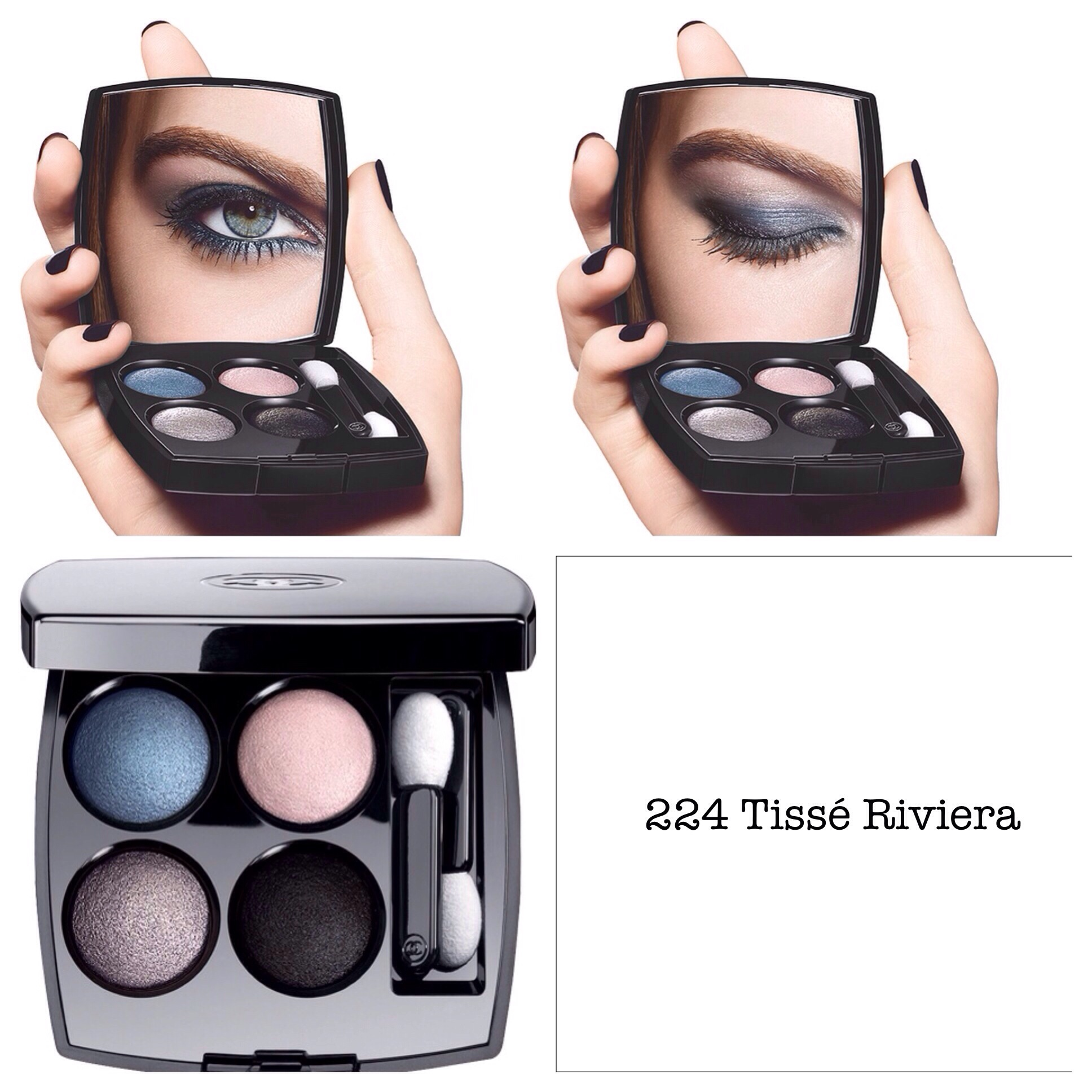 Chanel les 4 ombres eyeshadow spring 2014 reviews and swatches tisse riviera baditri Images